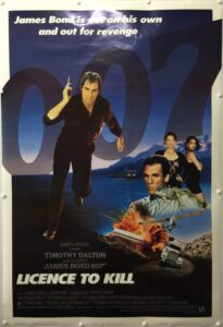 Licence to Kill US One Sheet International