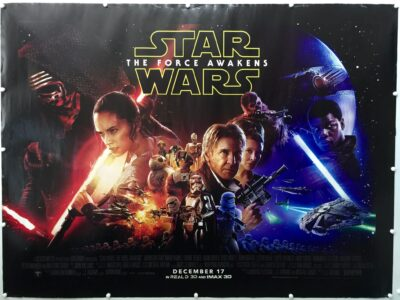 Star Wars: Episode VII - The Force Awakens UK Quad Final