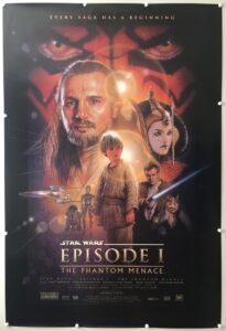 Star Wars: Episode I Phantom Menace Final US One Sheet