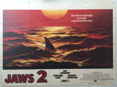 Jaws 2 Advance UK Quad