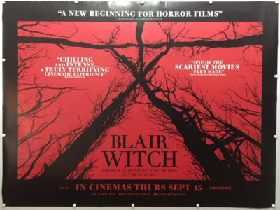 Blair Witch 2016 UK Quad