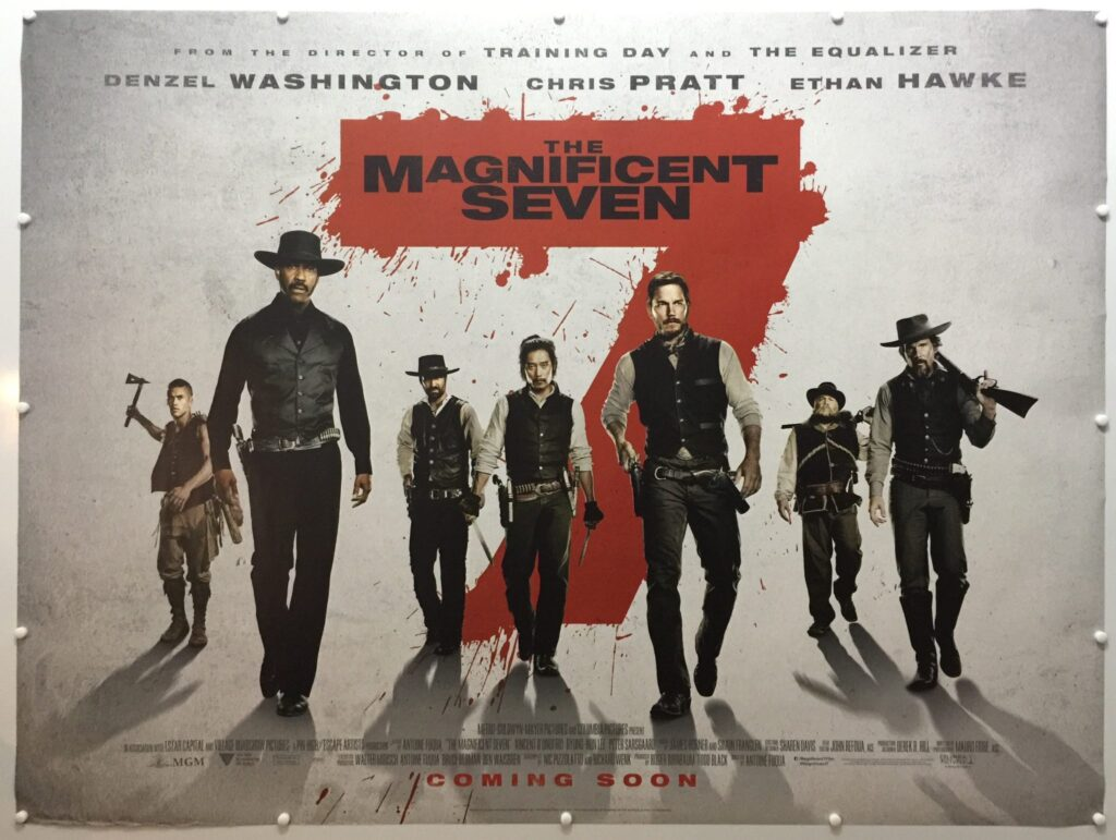 The Magnificent Seven Advance UK Quad