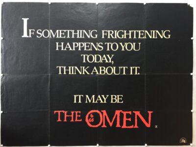 The Omen 1976 UK Quad Poster