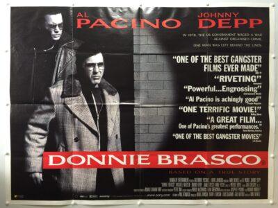 Donnie Brasco 1997 UK Quad