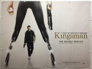 Kingsman: The Secret Service Eggsy Advance UK Quad