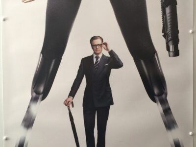 Kingsman: The Secret Service Harry Hart Galahad Uk One Sheet