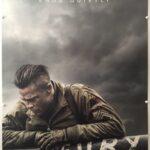 Fury | 2014 | Advance | Brad Pitt Style | UK One Sheet