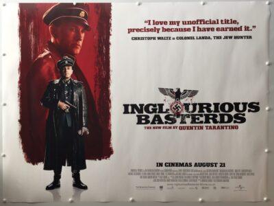 Inglourious Basterds Colonel Landa Advance UK Quad