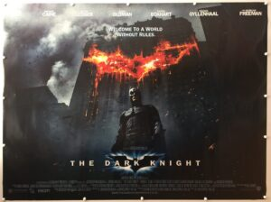 The Dark Knight Final UK Quad Poster