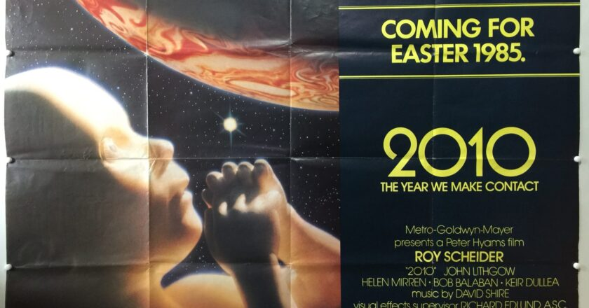 2010: The Year We Make Contact | 1984 | Advance | UK Quad