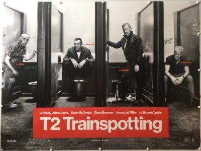 T2 Trainspotting Advance 2017 UK Quad
