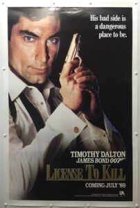 James Bond Licence to Kill Teaser US One Sheet