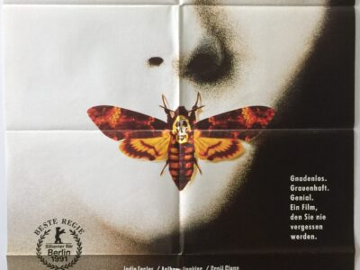 Silence of the Lambs German A1 Poster