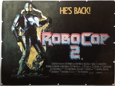 RoboCop 2 UK Quad