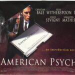 American Psycho | 2000 | Final | UK Quad