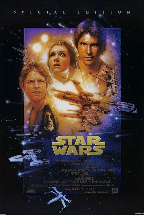 Star Wars 20th Anniversary Poster