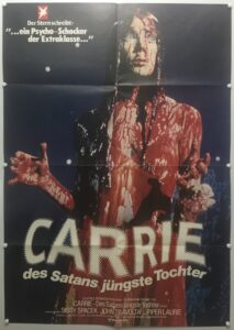 Carrie 1st Release German A1 Poster