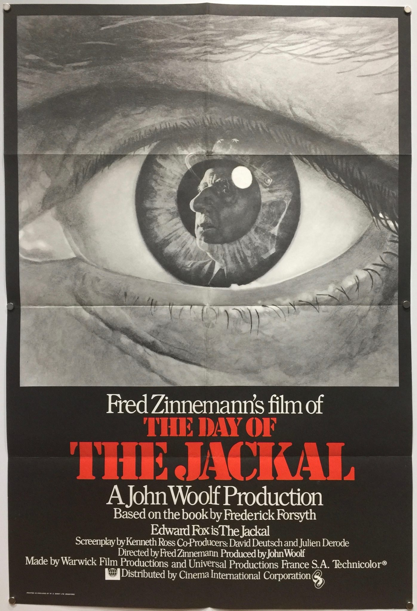 Day of the Jackal UK One Sheet