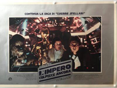 Empire Strikes Back Italian Photobusta 9