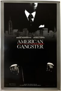 American Gangster WASHINGTON Advance US One Sheet