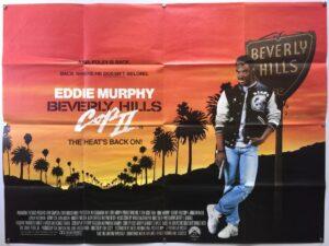 Beverly Hills Cop II UK Quad