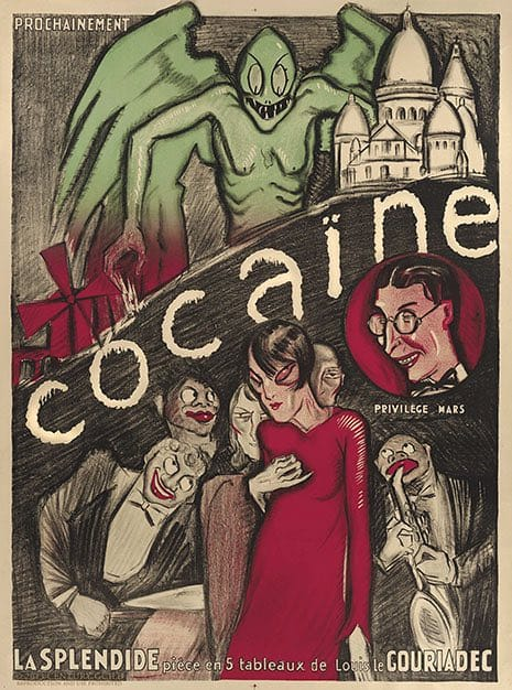 The Prints of Darkness - Cocaine Poster