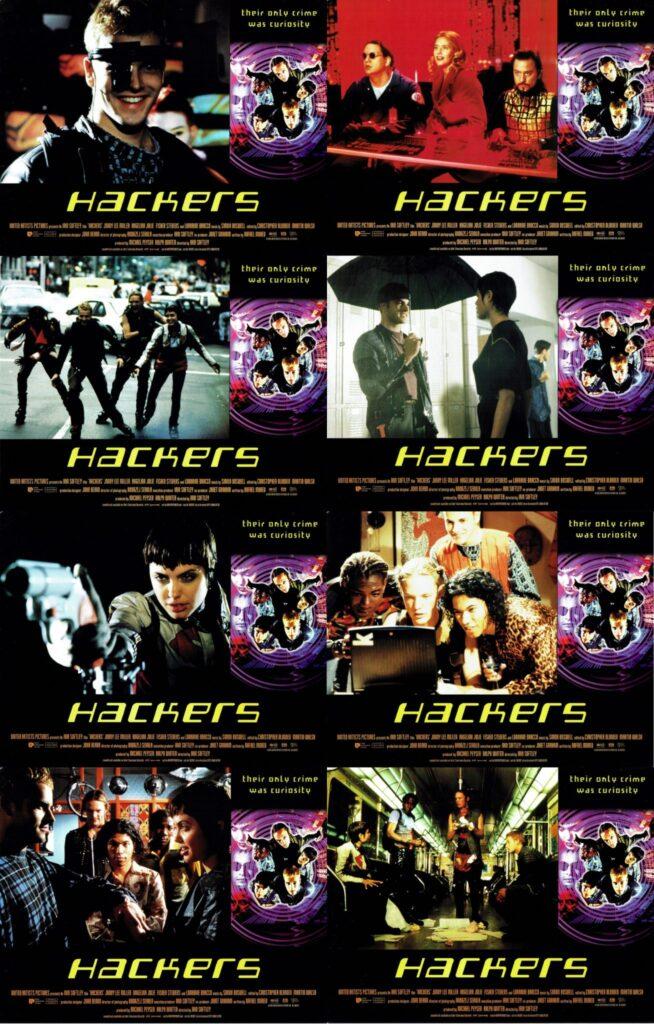 Hackers US Lobby Card