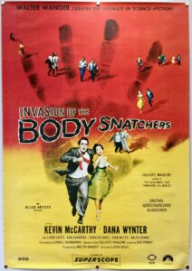 Invasion of the Body Snatchers Dutch Netherlands R2013 One Sheet