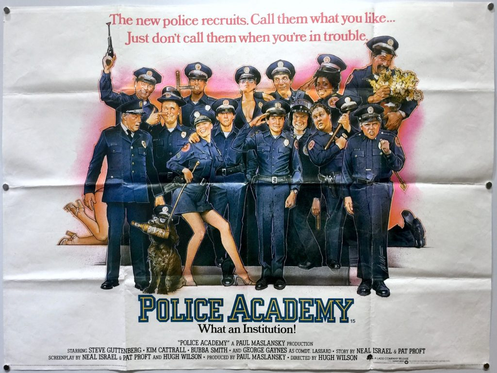 Police Academy UK Quad