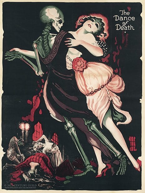 The Prints of Darkness - The Dance of Death Poster