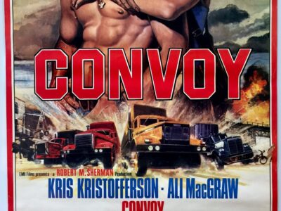 Convoy 1978 UK One Sheet