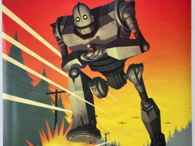 Iron Giant ADVANCE 1999 US One Sheet