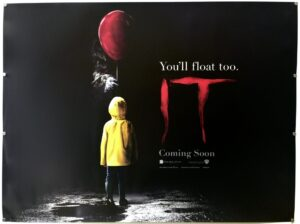IT (2017) TEASER UK Quad