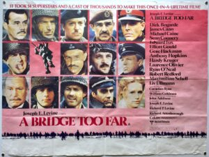 A Bridge Too Far 1977 STYLE B UK Quad