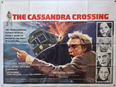 Cassandra Crossing 1976 UK Quad Poster