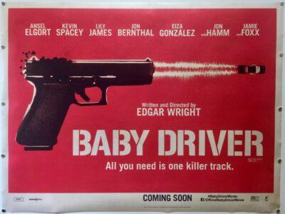 Baby Driver TEASER UK Quad