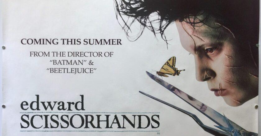 Edward Scissorhands | 1990 | Teaser | UK Quad