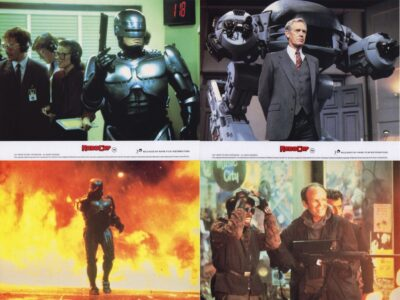 Robocop UK FOH Lobby Cards