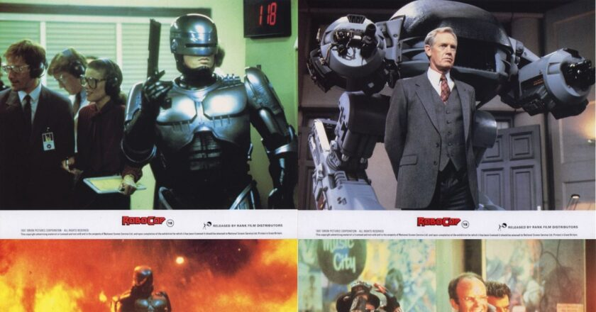 Robocop | 1987 | UK FOH Lobby Card