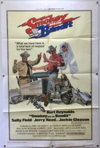 Smokey and The Bandit US One Sheet