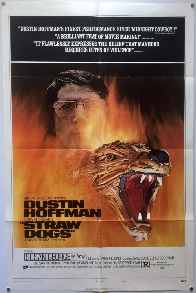 Straw Dogs US One Sheet STYLE D