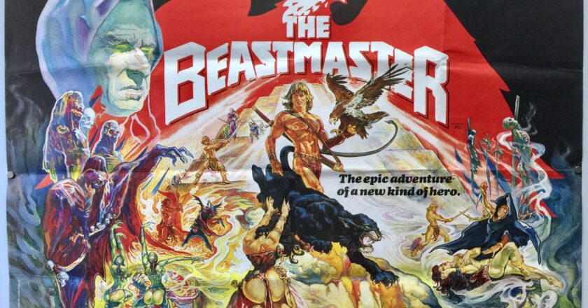 The Beastmaster | 1982 | UK Quad