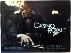 Casino Royale 2006 Teaser UK Quad