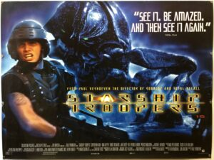 Starship Troopers Final UK Quad