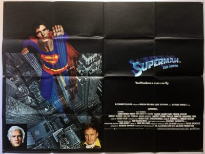 Superman The Movie 1978 UK Quad