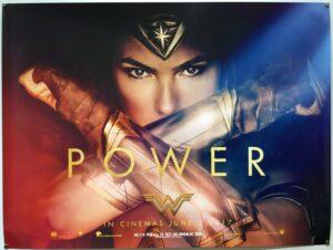Wonder Woman Teaser UK Quad
