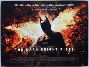 The Dark Knight Rises FINAL UK Quad