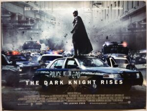 The Dark Knight Rises STYLE B UK Quad