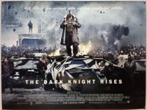 The Dark Knight Rises STYLE C UK Quad