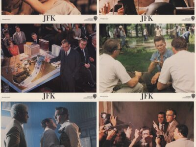 JFK US Lobby Card